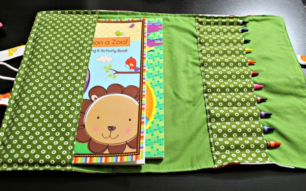 Crayon And Coloring Book Carrier Pattern | Coloring Pages