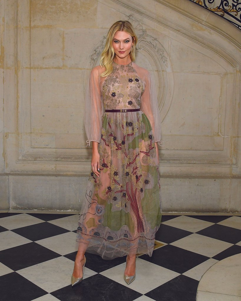 Karlie Kloss at Dior Spring-Summer 2019 Haute Couture show