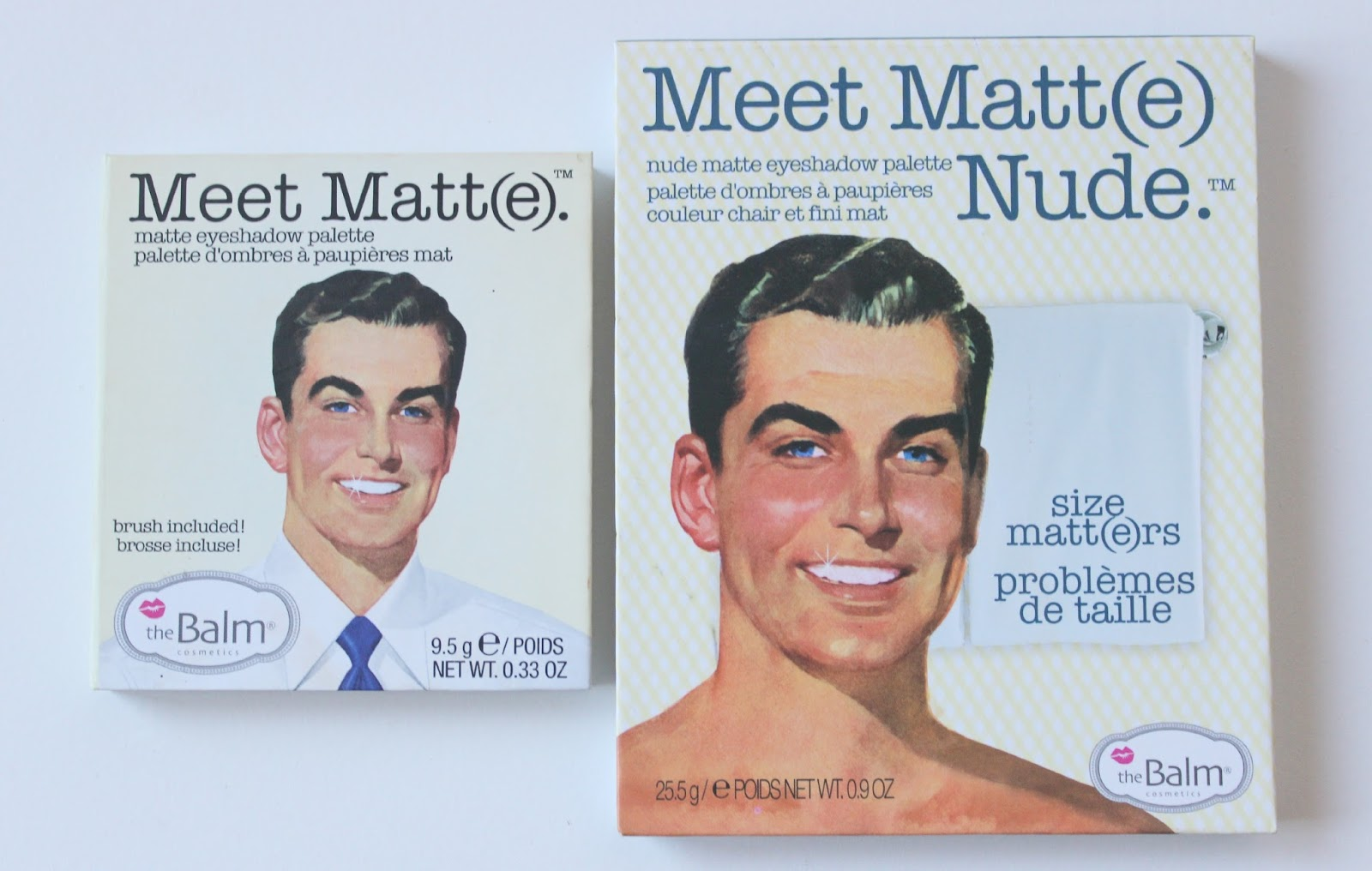 A picture of theBalm theBalm Meet Matt(e) and Meet Matt(e) Nude