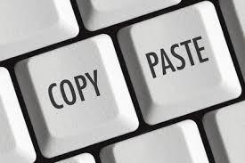 Menemukan blog copy paste