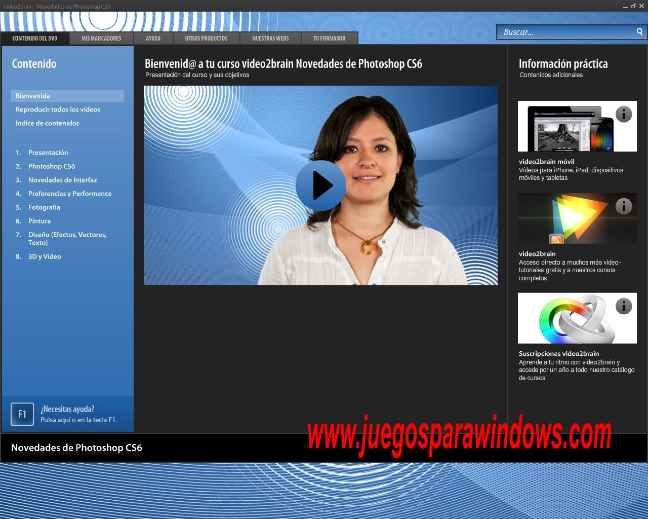 video2brain novedades de adobe photoshop cs6 descargar curso mediafire