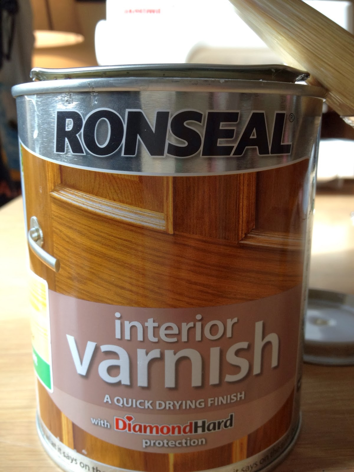 Rascal & Roses: Review: Ronseal Interior Varnish - Does