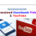 Download Facebook Videos & YouTube By Internet Download Manager (IDM) Download Bar