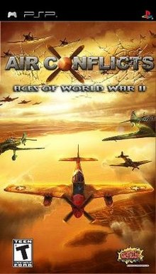 Download Air Conflicts: Aces of World War II - Game PSP Iso
