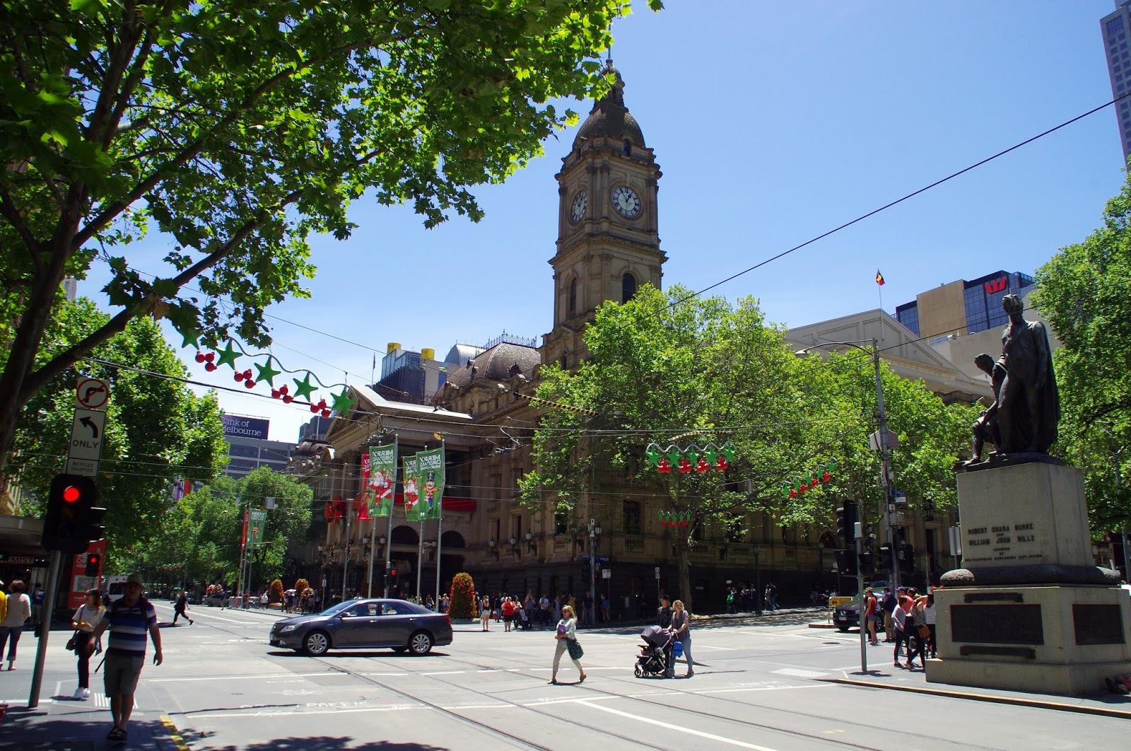 Bourke Street Mall Melbourne CBD