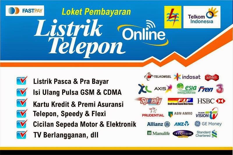 Tabel Daftar Pelanggan Listrik, TV, dan Telkom Syukma Groups