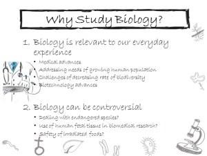 Handwriting Powerpoint Biology