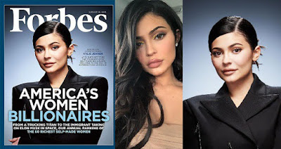 Kylie Jenner, 20, set to become forbe's youngest self-made billionaire