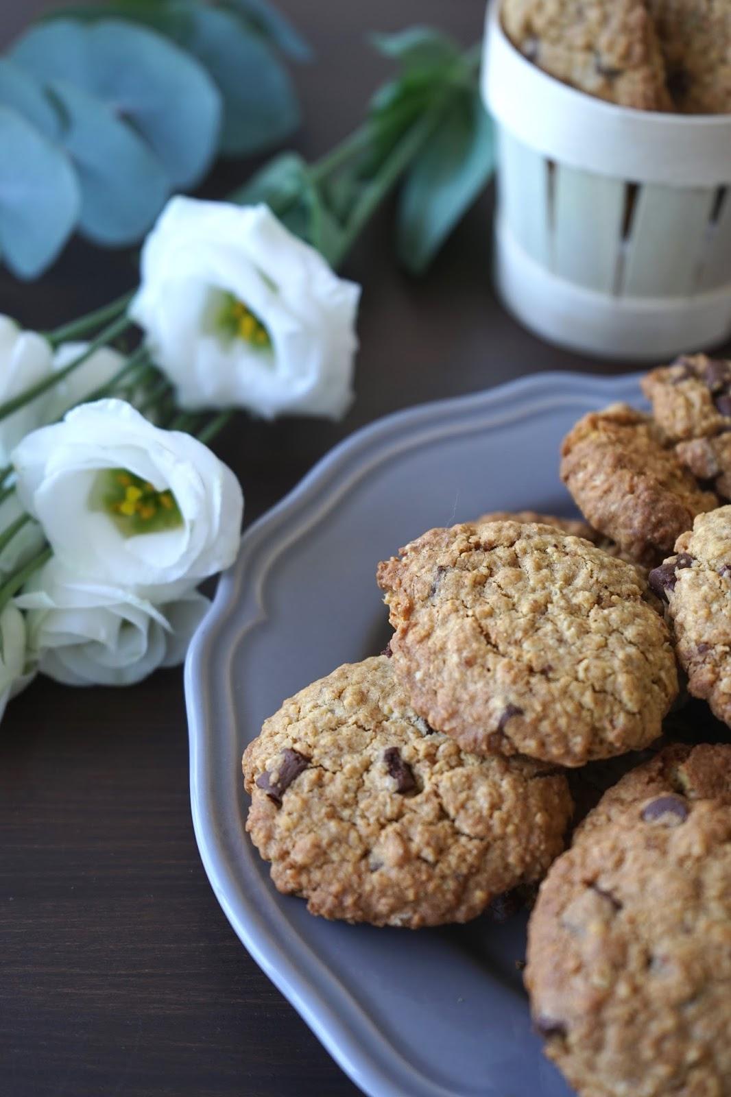 the cook time cookies aux flocons d 39 avoine et chocolat. Black Bedroom Furniture Sets. Home Design Ideas