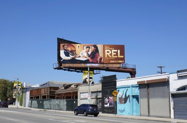 Rel TV series billboard