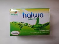 Jual Sabun Herbal Green Tea/Teh Hijau Halwa di surabaya