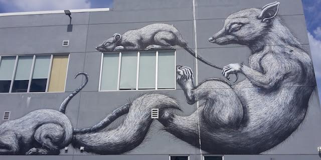 Rats - streetart