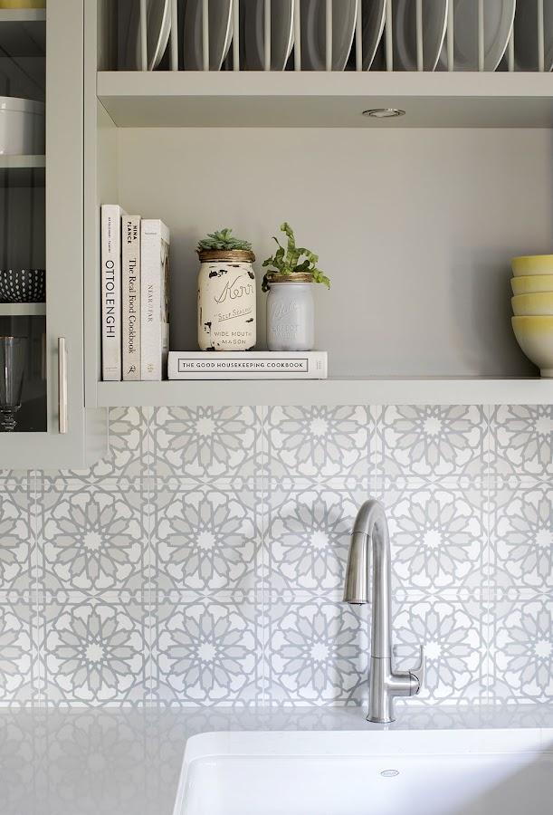 detalles cocina gris
