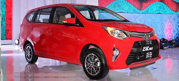 Toyota Calya Open Inden