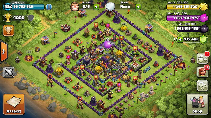 mod unlimited money clash of clans