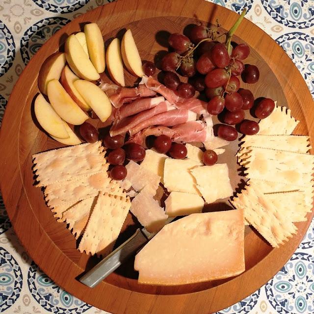 #ParmesanAmbassador cheese plate #ad