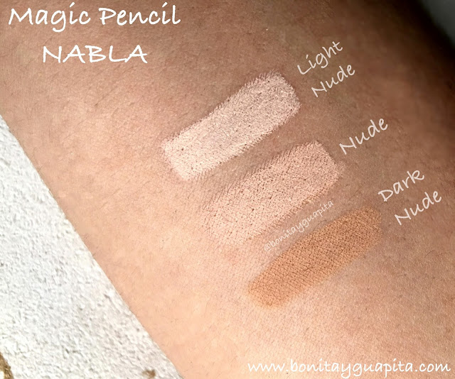Magic pencil nabla swatches