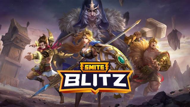 Hi-Rez Studios lanza Smite Blitz para dispositivos móviles!