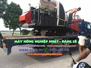 xuất giao bán máy gặt kubota dc70 ở tại Gia Bình Bắc Ninh cho bà con