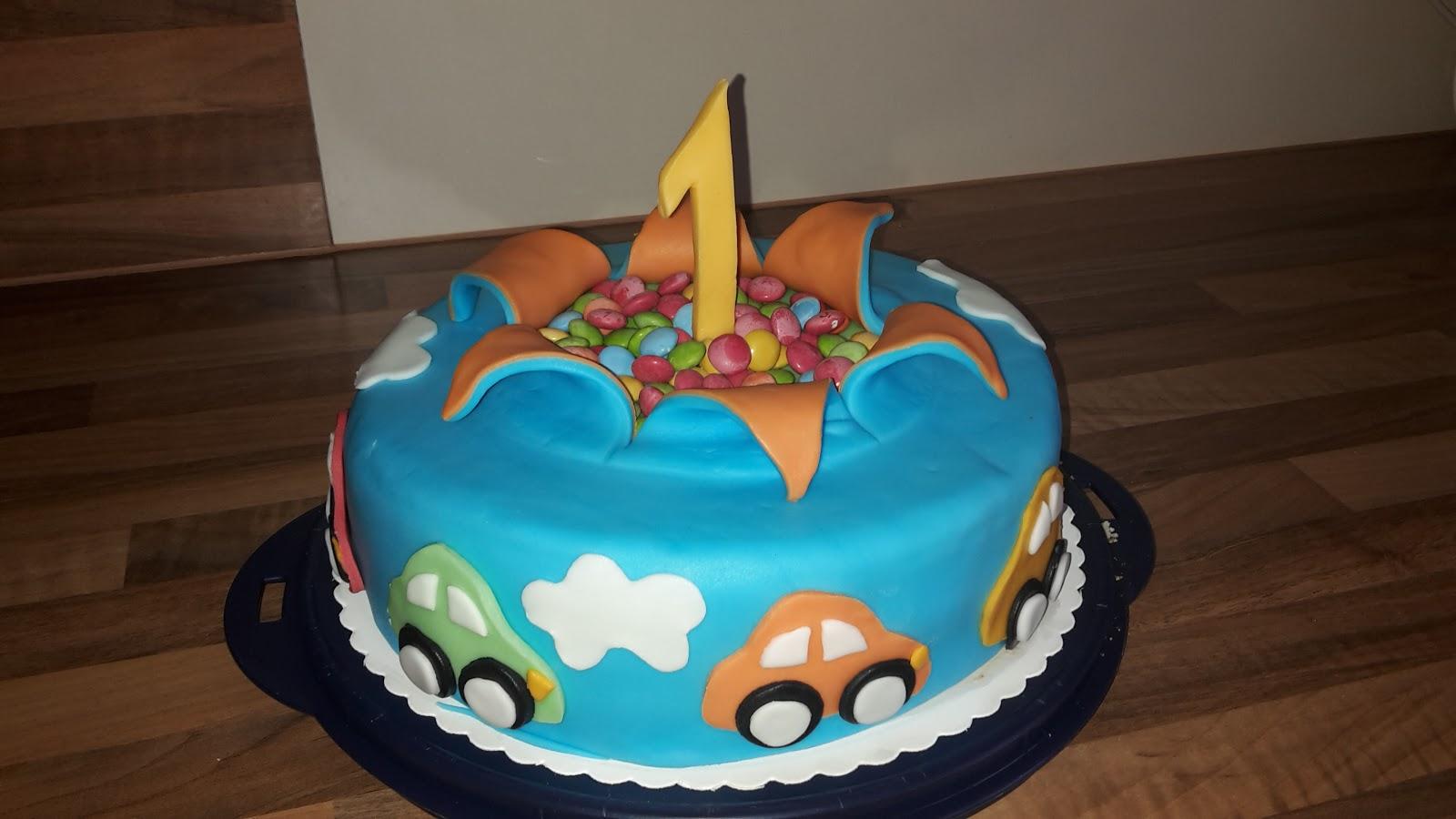 1 Geburtstag Torte Junge