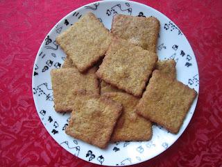 Biscuits à la courge sur une assiette, Halloween