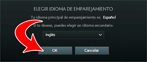 Elegir idioma dota 2