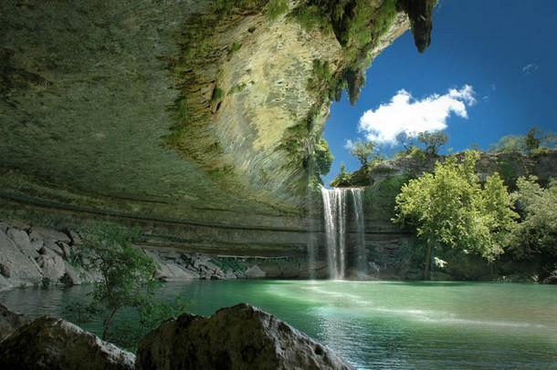 Texas Hamilton Pool Nature Preserve, Southwest of Austin