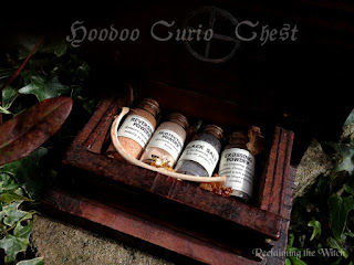 Hoodoo Curio Chest from Reclaiming the Witch