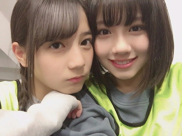 Kosaka Nao and Watanabe Miho Hiragana Keyakizaka46