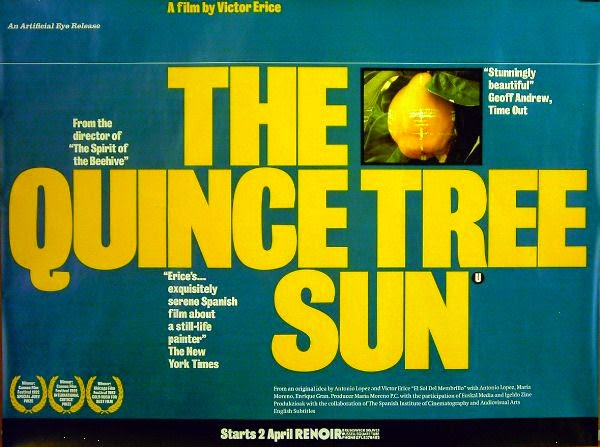 Original Poster for film The Quince Tree Sun