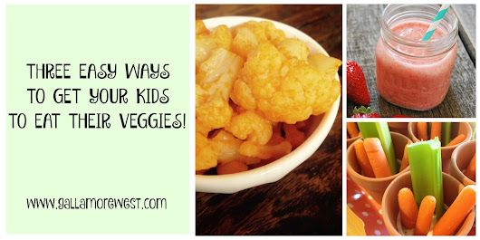 3 easy ways to get kids to eat vegetables!