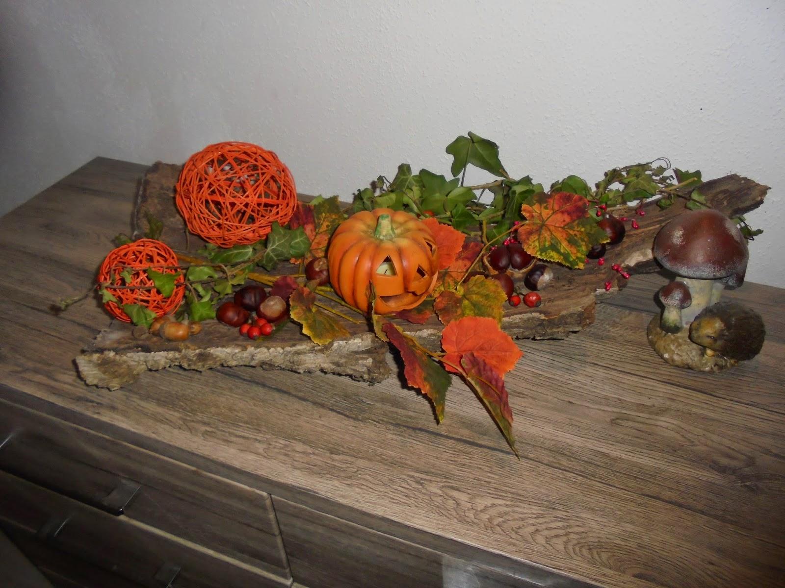 Gold Candy Floss: Herbstdekoration Aus Dem Wald