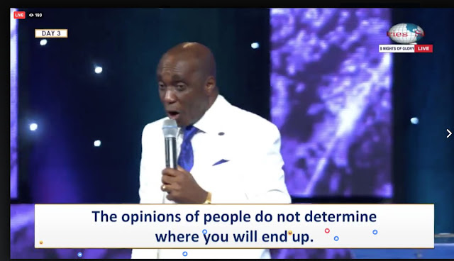 35 Powerful #Quotes From Pastor David Ibiyeomie During #5NightsOfGlory2017 - Day 3