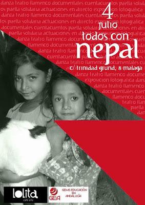 Cartel de Día por Nepal