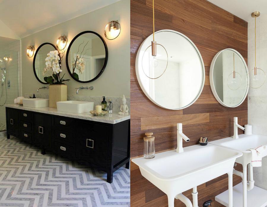 Okrągłe Lustro W łazience Inspiracje Blog Wnętrzarski
