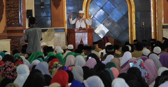 Peringati Isra' Mi'raj, Wali Kota Palopo Ajak Hentikan Pertentangan
