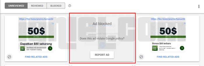 Cara Filter Iklan AdSense CPC Murah