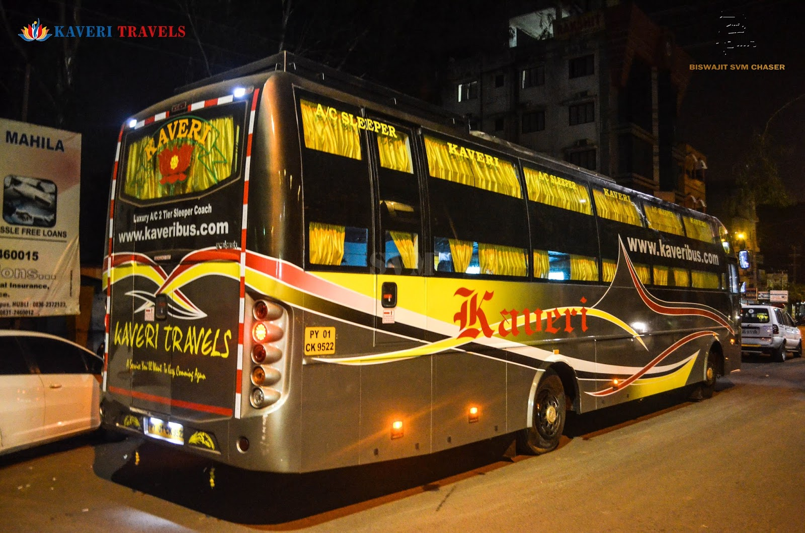Kaveri Travels Online Bus Booking
