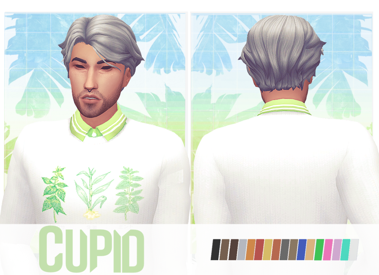 Cupid hair