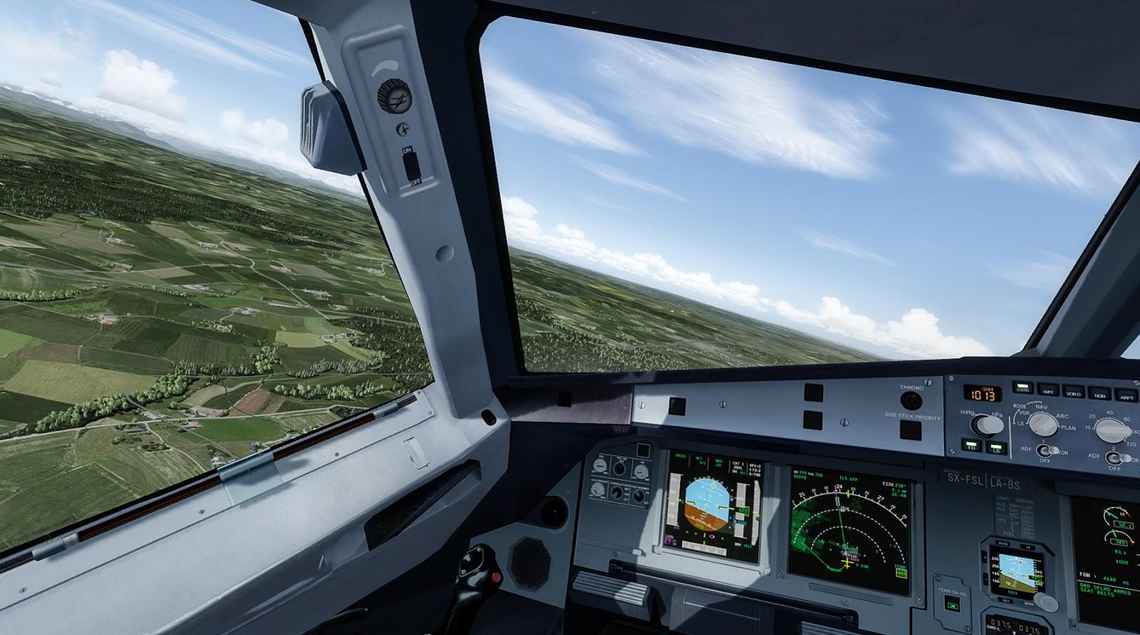 FlightFactor A320 Ultimate vs  Flightsim Labs A320 X