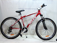 A 26 Inch Element Police 911 Montreal Mountain Bike