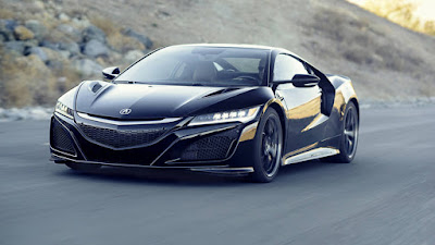 2017 Next Acura NSX Generation reviews front view