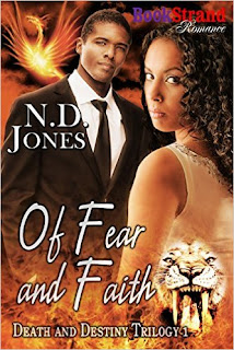 Of Fear and Faith - paranormal romance by N.D. Jones