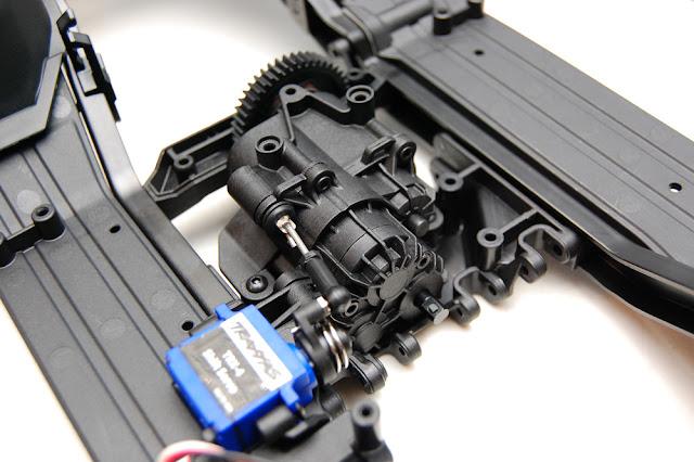 Traxxas TRX-4 transmission install