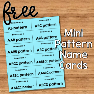 Make a Pattern Mini Cards
