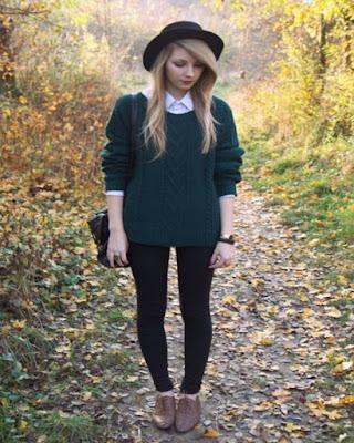 outfits vintage de otoño