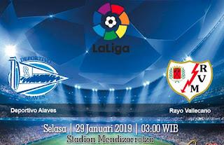 Prediksi Deportivo Alaves vs Rayo Vallecano 29 Januari 2019