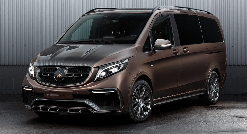 Topcar transforms mercedes v class into something fit for for V class mercedes benz