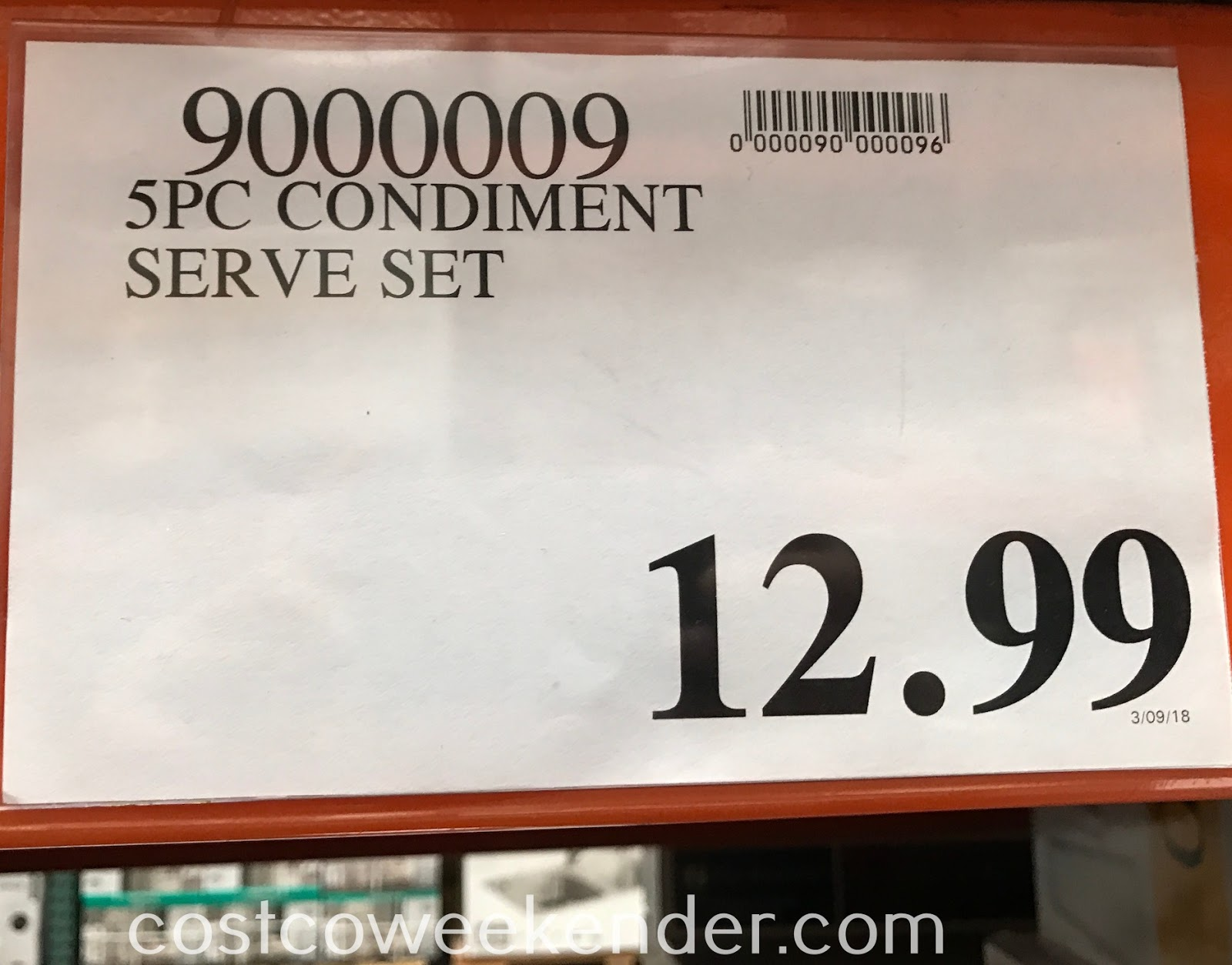 Deal for the 5-piece Stoneware Serving Set at Costco