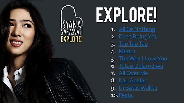 Cover Kaset CD Isyana Sarasvati Full Album Explore